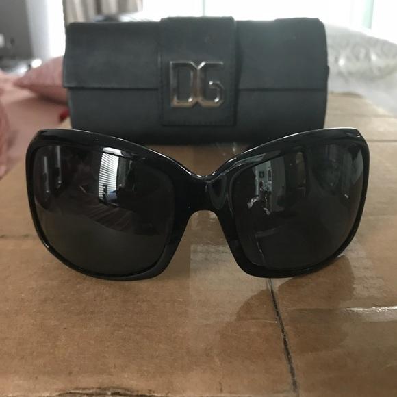 f2fe69b2ac83 Dolce   Gabbana Accessories - Authentic Dolce   Gabbana Sunglasses DG logo  Black